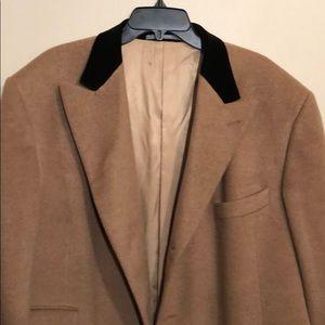 Hickey Freeman | 100% Camel Hair Tailored Overcoat